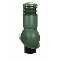 Вентиляционный выход изолированный WIRPLAST NORMAL K54 150/500 Зелёный