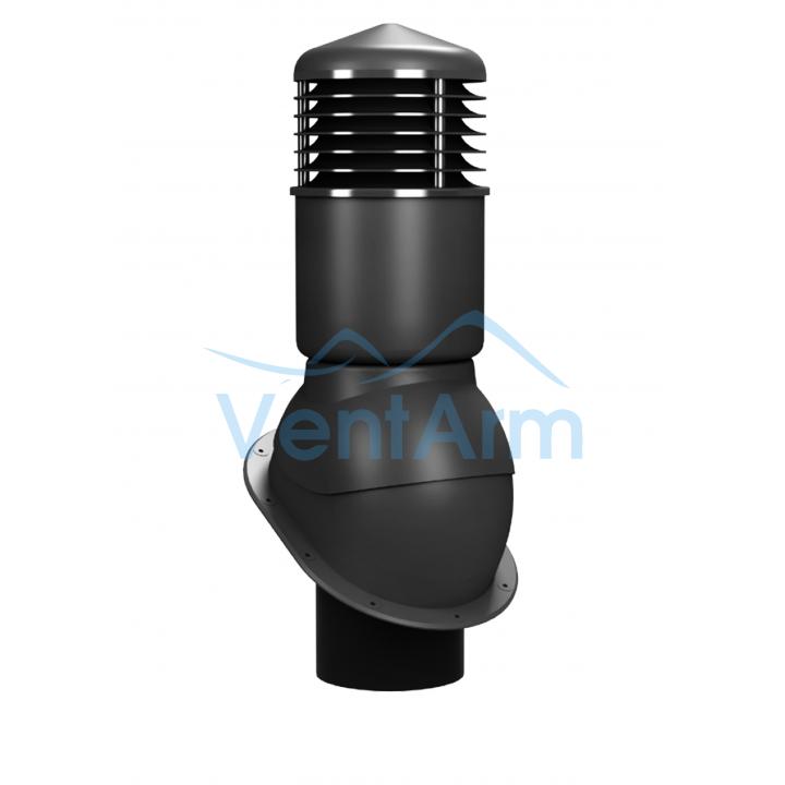 Вентиляционный выход изолированный WIRPLAST NORMAL K54 150/500 Графитовый
