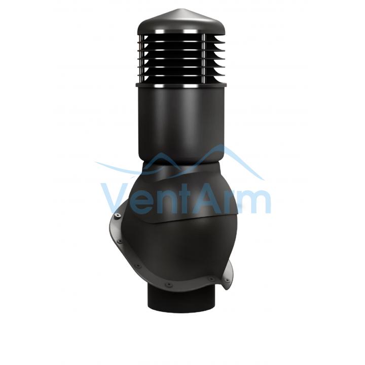Вентиляционный выход изолированный WIRPLAST PERFEKTA K55 150/500 Чёрный