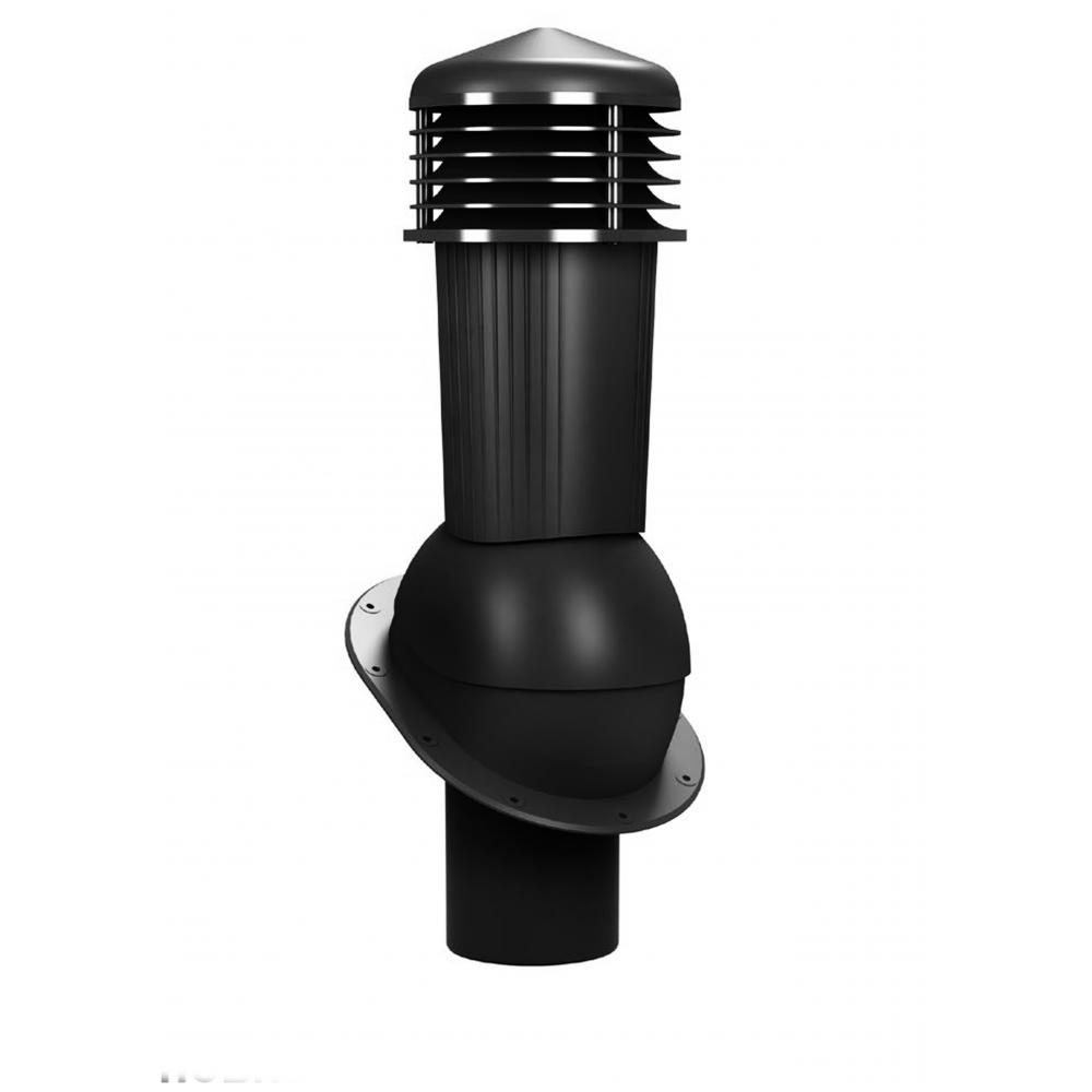 Вентиляционный выход неизолированный WIRPLAST NORMAL PLUS K88 110-125/500 Чёрный