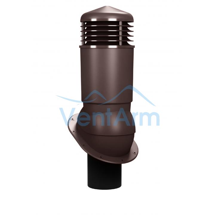 Вентиляционный выход изолированный WIRPLAST NORMAL PLUS K89 110-125/500 Коричневый