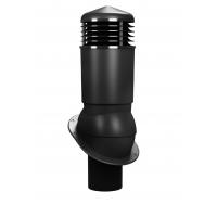 Вентиляционный выход изолированный WIRPLAST NORMAL K54 150/500 Чёрный