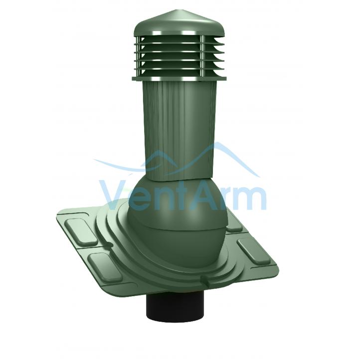 Вентиляционный выход неизолированный WIRPLAST UNIWERSAL PLUS K91 110-125/500 Зелёный