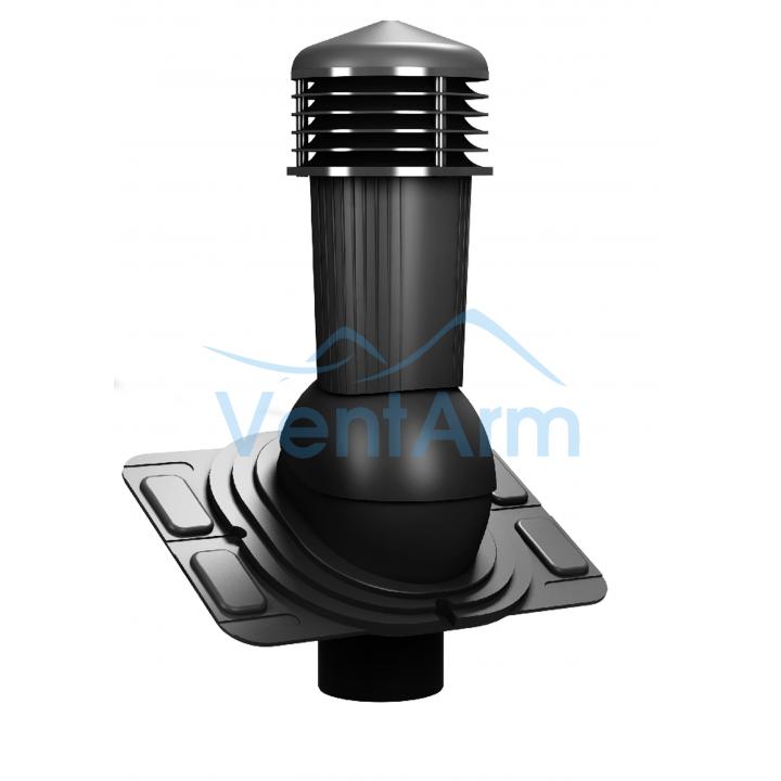 Вентиляционный выход неизолированный WIRPLAST UNIWERSAL PLUS K91 110-125/500 Графитовый