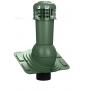 Вентиляционный выход с электровентилятором WIRPLAST UNIWERSAL PLUS K93 110-125/500 Зелёный