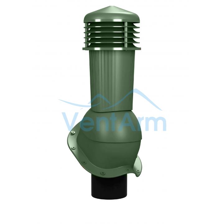 Вентиляционный выход неизолированный WIRPLAST PERFEKTA PLUS K94 110-125/500 Зелёный