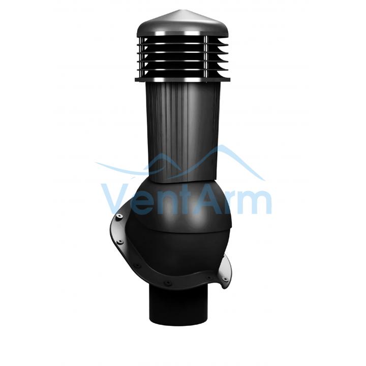 Вентиляционный выход неизолированный WIRPLAST PERFEKTA PLUS K94 110-125/500 Графитовый
