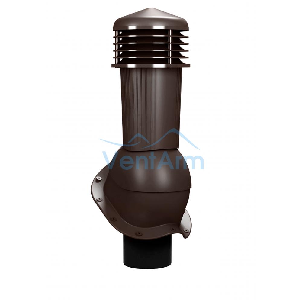 Вентиляционный выход неизолированный WIRPLAST PERFEKTA PLUS K94 110-125/500 Коричневый
