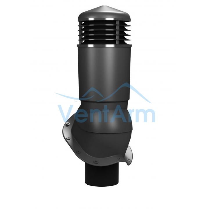 Вентиляционный выход изолированный WIRPLAST PERFEKTA PLUS K95 110-125/500 Графитовый