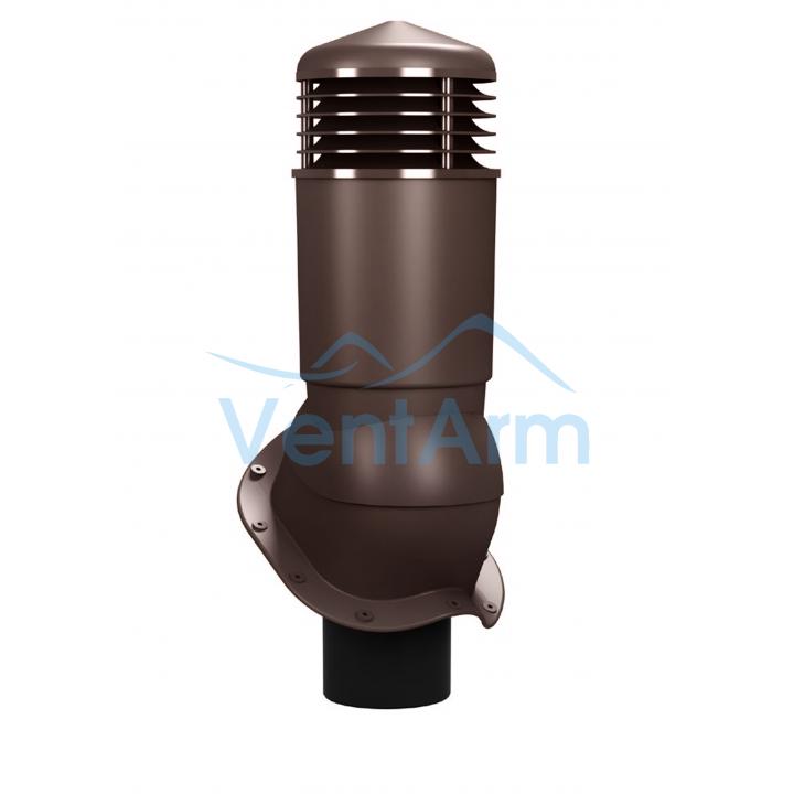 Вентиляционный выход изолированный WIRPLAST PERFEKTA PLUS K95 110-125/500 Коричневый