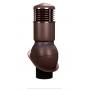 Вентиляционный выход изолированный WIRPLAST NORMAL K54 150/500 Коричневый
