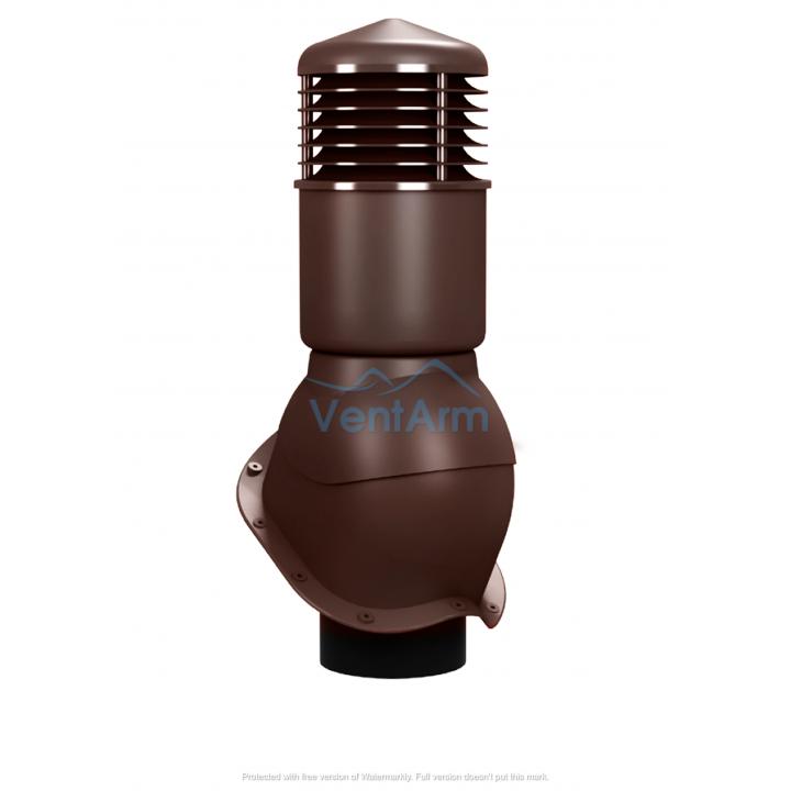 Вентиляционный выход изолированный WIRPLAST PERFEKTA K55 150/500 Коричневый