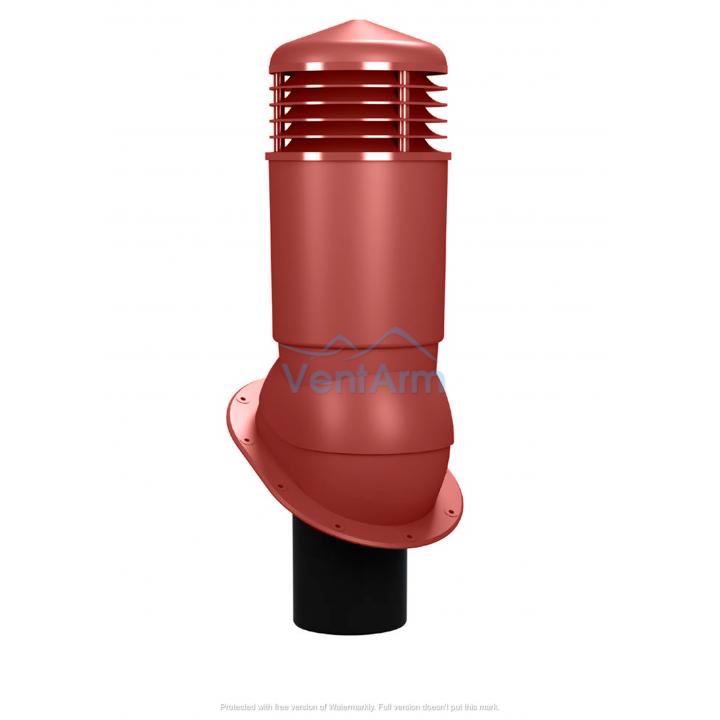 Вентиляционный выход изолированный WIRPLAST NORMAL PLUS K89 110-125/500 Красный