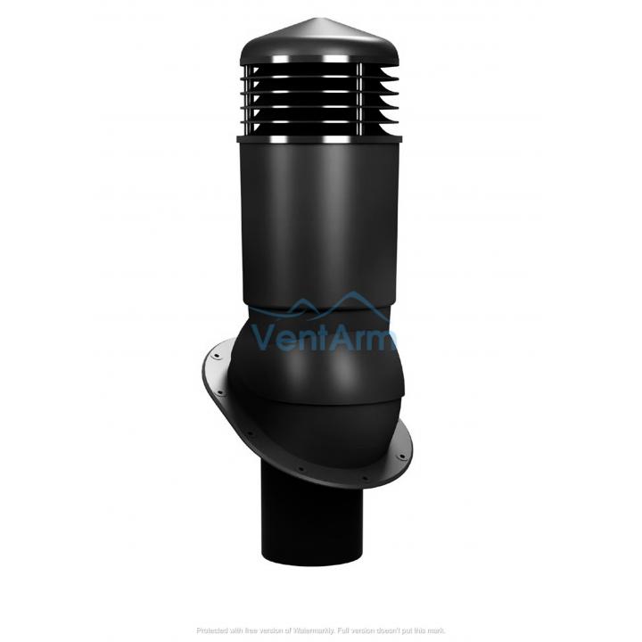 Вентиляционный выход изолированный WIRPLAST NORMAL PLUS K89 110-125/500 Чёрный