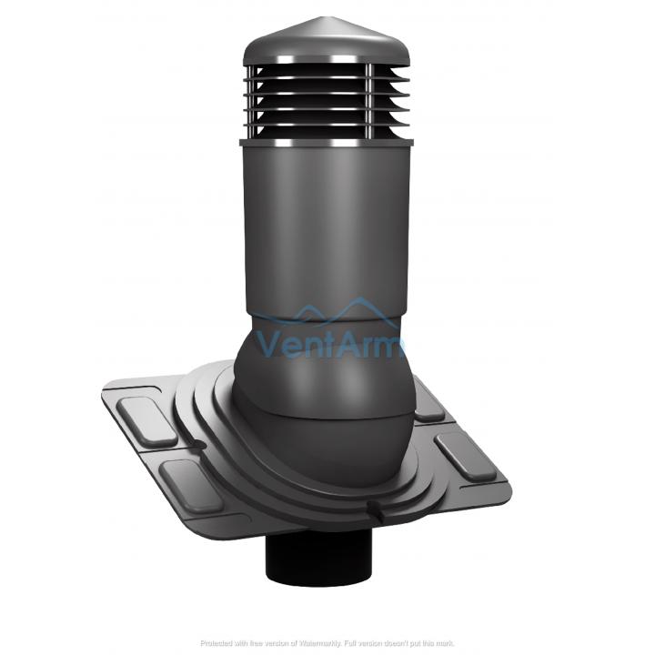 Вентиляционный выход изолированный WIRPLAST UNIWERSAL PLUS K92 110-125/500 Графитовый