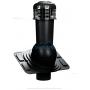 Вентиляционный выход с электровентилятором WIRPLAST UNIWERSAL PLUS K93 110-125/500 Чёрный