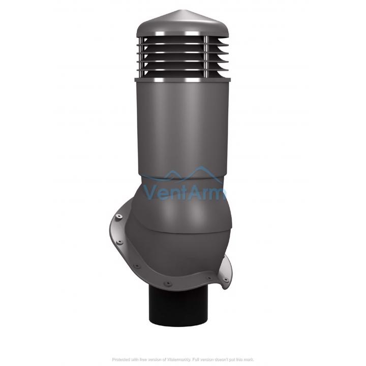 Вентиляционный выход неизолированный WIRPLAST PERFEKTA PLUS K95 110-125/500 Графитовый