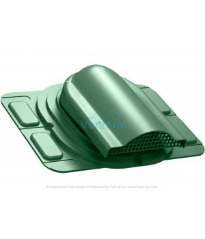 Вентилятор подкровельного пространства WIRPLAST OPTIMUM P20 Зелёный