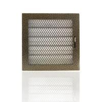 Вентиляционная решетка каминная, регулируемая 150х150