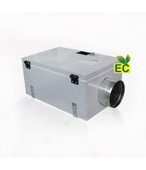 Приточная установка EC с автоматикой GTC и электрическим нагревателем ВПУ-300 ЕС/3 кВт