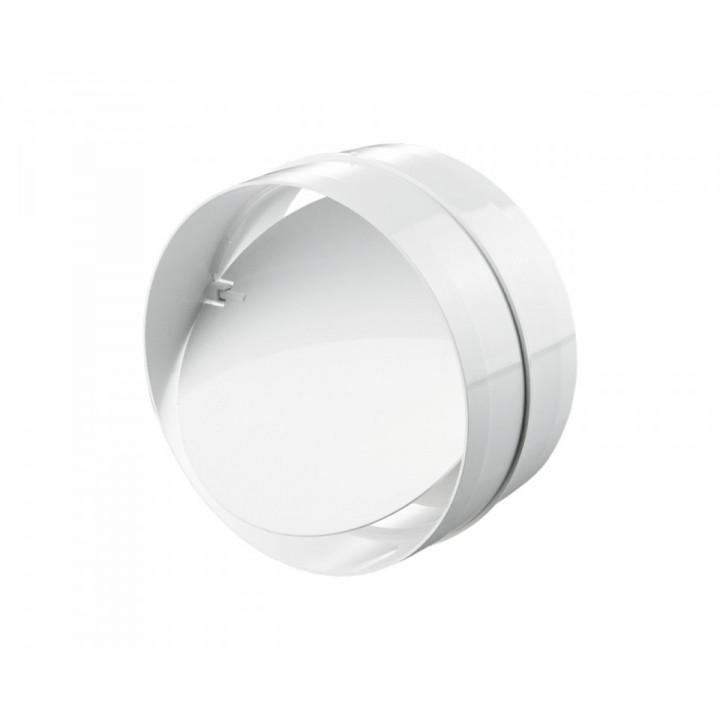 Vents соединитель с обратным клапаном для круглых каналов Ø100