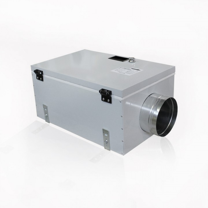 Приточная установка с автоматикой GTC и электрическим нагревателем ВПУ-500/3 кВт